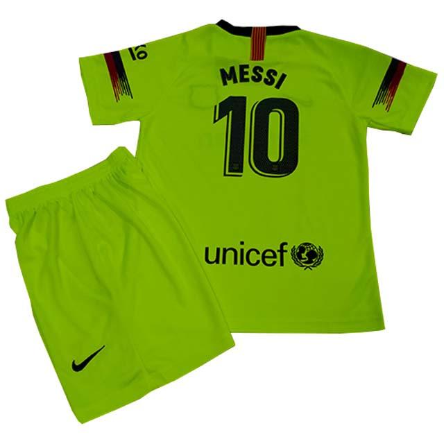 6d378471279b Футбольная форма детская ФК Барселоны Месси сезон 2018-2019г ...
