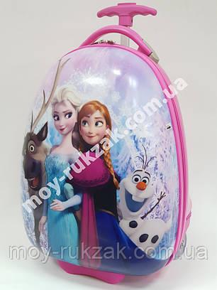 "Детский чемодан на колесах ""Josef Otten"" Холодное сердце Frozen-5 , фото 2"