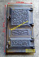 Дверка печная чугунная (200х400 мм) печи, грубу, барбекю, фото 1