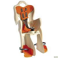 Детское велокресло Bellelli B-One Сlamp на багажник Бежевый