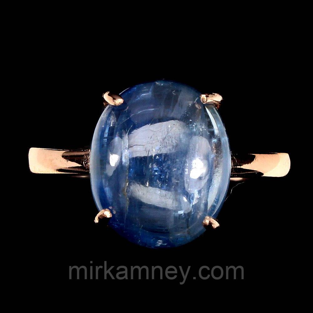 Кольцо с натуральным кианитом из Непала 17