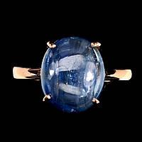 Кольцо с натуральным кианитом из Непала 17, фото 1