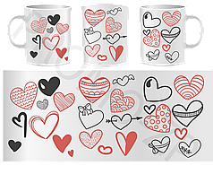 Чашки ко дню Св. Валентина