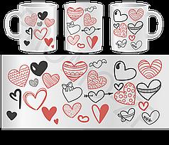 Чашки до дня Св. Валентина