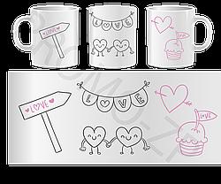 Чашки ко дню Св. Валентина, фото 2
