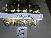 Портбукетници с золотыми и серебряными ручками (Aspac)
