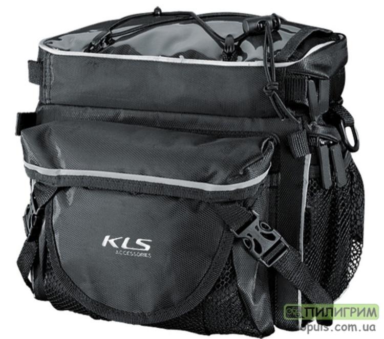 Сумка на руль велосипеда - KLS KB-703 Черный KB-703