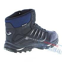 Зимние черные высокие кроссовки из натуральной кожи Bona BA-26, на меху, фото 2