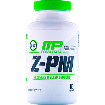 MusclePharm, Essentials, Z-PM, 60 капсул