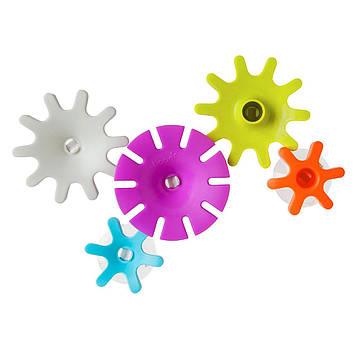Boon, Cogs, строительный набор игрушек для ванной, для детей от 1 года, 5 шт.