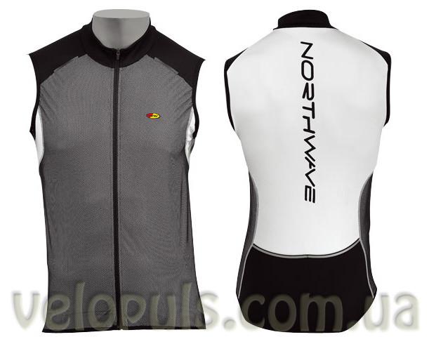 Веломайка - Northwave BLADE Vest Black/White sleeveless XL