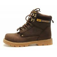 Ботинки зимние мужские Caterpillar Second Shift Boots (катерпиллер) коричневые, фото 1
