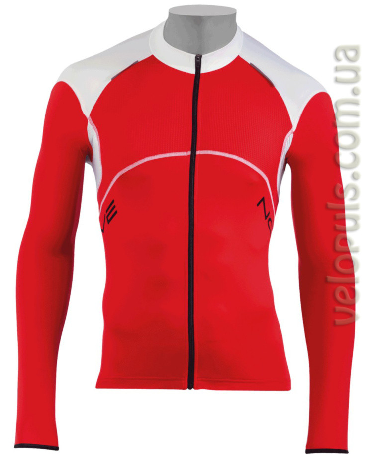 Джерси - Northwave Blade Jersey red/white long sleeve S