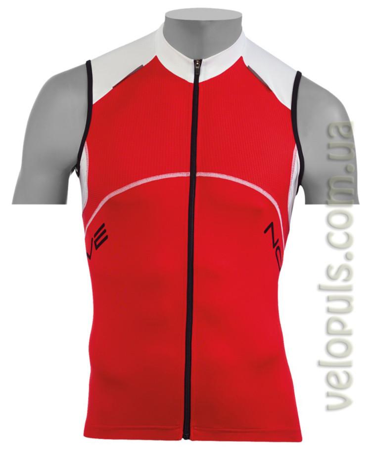 Веломайка - Northwave Blade Jersey red/white sleeveless 3XL