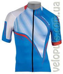 Веломайка - Northwave Typhoon jersey blue/white short sleeve S