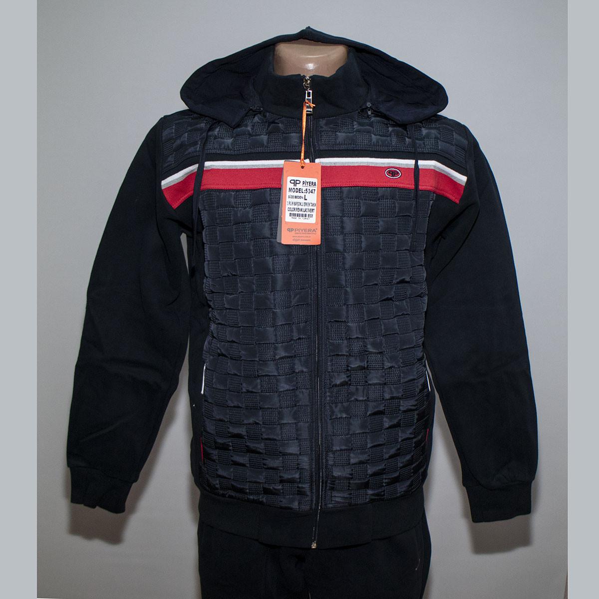 db27436ce0f4 Теплый мужской спортивный костюм с капюшоном пр-во Турция Piyera 5047