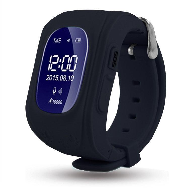 Детские Умные Часы Q50 OLED c GPS, черные  Русифицированные