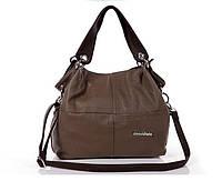 Женская стильная сумка WeidiPolo, Хаки, Качественная реплика