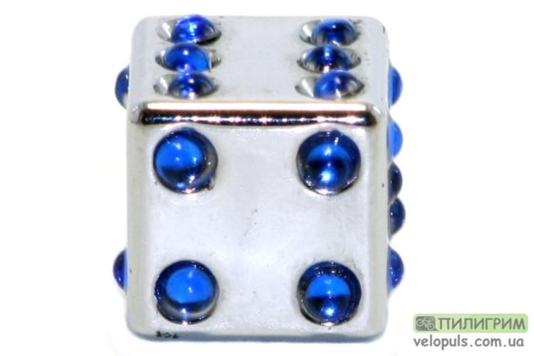 Колпачок для камеры - TW V-11D Игральный кубик AV Серебристый