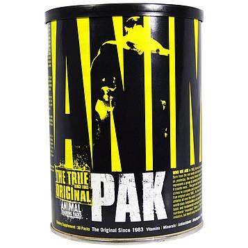 Universal Nutrition, Animal Pak, The True Original, пакеты для тренировок Animal, 30 пакетов