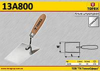 Мастерок штукатурный 160 x 80 мм,  TOPEX  13A800
