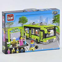 """Конструктор Brick 1121 (24) """"Автобусная остановка"""" 420 деталей, в коробке"""