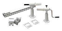 Наматывающее устройство Solaris II с трубками для наземных бассейнов