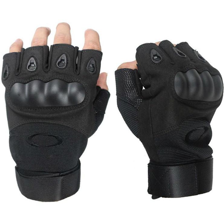 Беспалые тактические перчатки OAKLEY