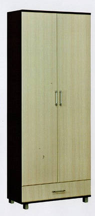 Шкаф Ш-900 Уют ДСП   2020х900х400мм  Абсолют, фото 2