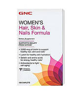 Витамины GNC Hair, Skin and Nails Formula,  120 tabs, фото 1