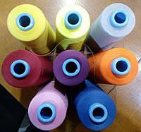 Нитки для оверлока текстурированные Saba TEX 120  (Германия) (10000 метров) Amann Group GmbH, фото 1