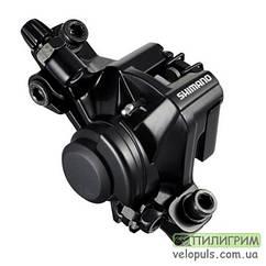 Дисковый тормоз велосипеда - Shimano BR-M375 механический F180\R160 IM