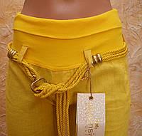 Женские брюки-лен.
