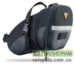 Сумка подседельная Topeak Aero Wedge Pack Strap L (23х14х13см)