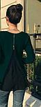 "Блуза с шифоновой спинкой ""Goldy"", фото 6"