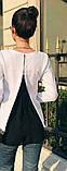"Блуза с шифоновой спинкой ""Goldy"", фото 5"