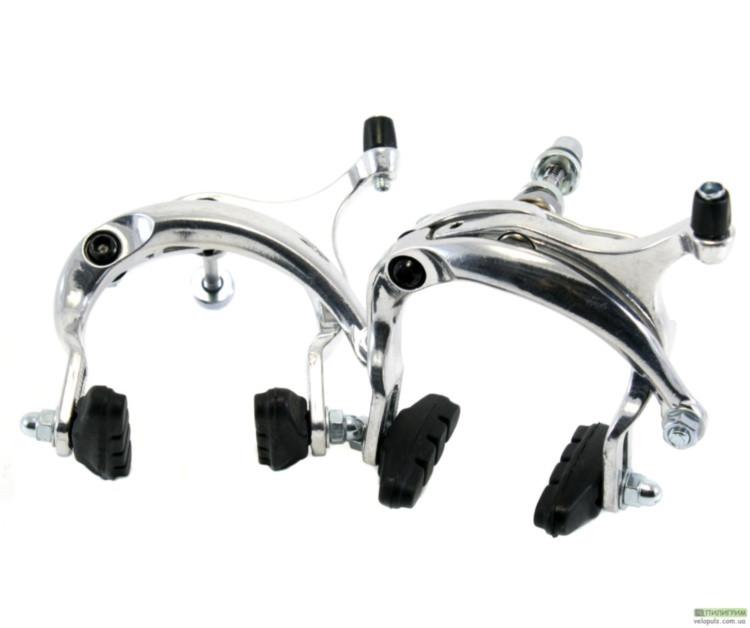 Велосипедные тормоза туристические - Artek AR-2006D серебристый