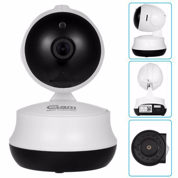 Поворотная Wi Fi IP-камера видео наблюдения, Видеоняня. Ночное виденье
