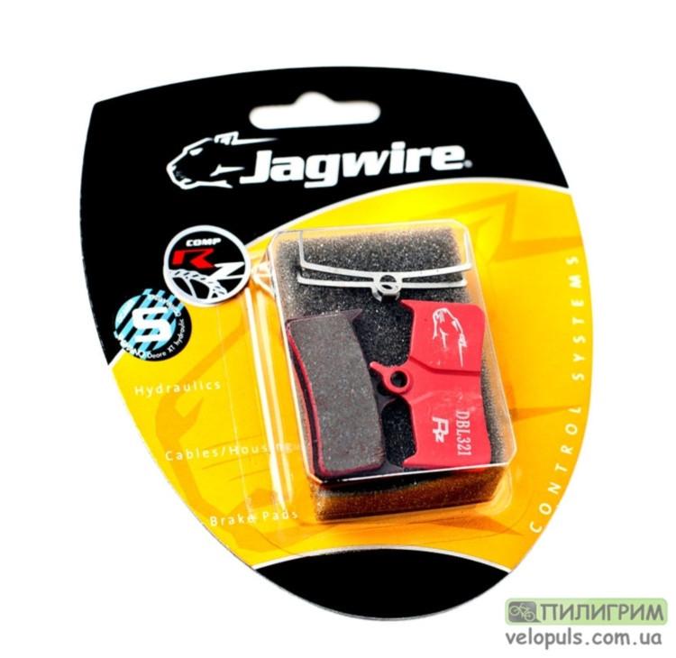 Тормозные колодки Disc - Jagwire для Shimano Deore XT, M755-DH Полуметалл на стальной основе