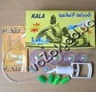 Вакуумные антицеллюлитные массажные банки 6 штук с насосом, фото 1