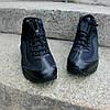 Мужские зимние кроссовки Nike Air Max 95 Sneakerboot 'Black' (Найк) черные, фото 3