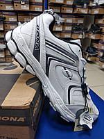 Мужские демисезонные кроссовки Бона белые