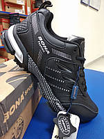 Черные демисезонные кроссовки Бона