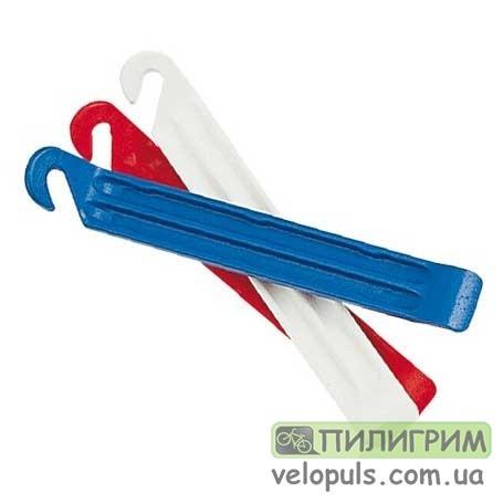 Бортировочные лопатки - Zefal DP20, 3-х цветные пластиковые (3 шт.)