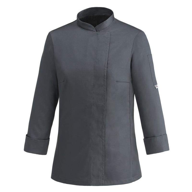 Китель поварской женский темно серый Atteks - 00922