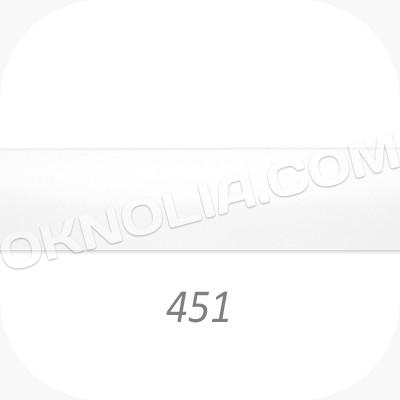 Горизонтальные жалюзи 25мм, №451 белый