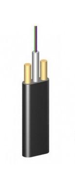 ОКАДт-Д(1,0)П-4Е1 плоский диэлектрический самонесущий волоконно-оптический кабель