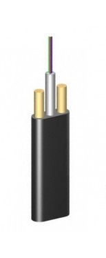 ОКАДт-Д(2,7)П-4Е1 плоский диэлектрический самонесущий волоконно-оптический кабель