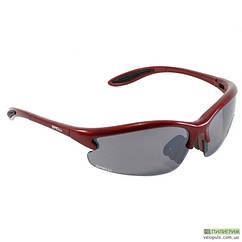 Очки спортивные велосипедные - Spelli SGL-643 со сменными линзами Красный