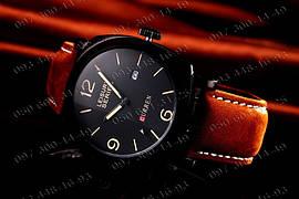 Часы Curren Leisure Series, мужские часы, водостойкость, кожаный ремешок, стильные часы,